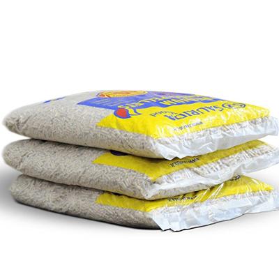 Saurida wood Granulės maišeliuose 15 kg