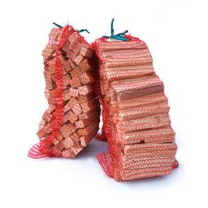 Saurida wood Uždegimo pagaliukai tinkliniame maišelyje 3kg