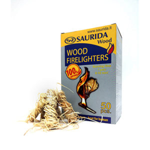 Saurida wood Ugnies įkūrimo priemonė 50 vnt.