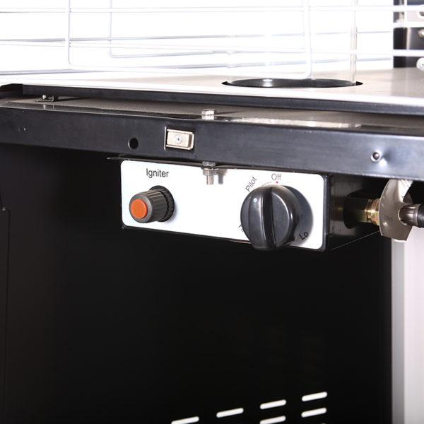 Saurida lauko dujiniai šildytuvai
